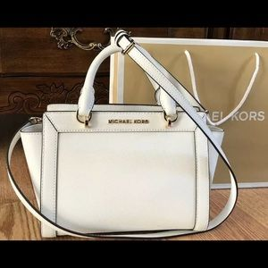 $248 Michael Kors Messenger Handbag MK Purse Bag